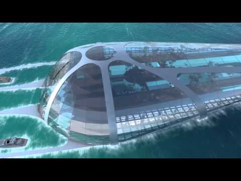 3D animation underwater resort Hainan / China by xspace creative