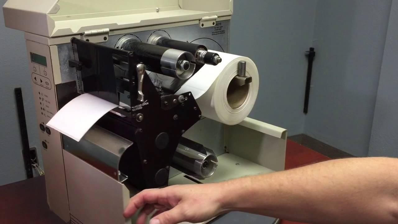 zm400 printer