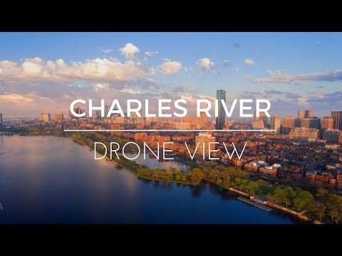 A Taste of Charles River  |  Epic Drone View (4K)