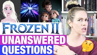 FROZEN 2 UNANSWERED QUESTIONS (Queen Iduna, Ahtohallan, 5th Spirit, Movie Ending & More!)