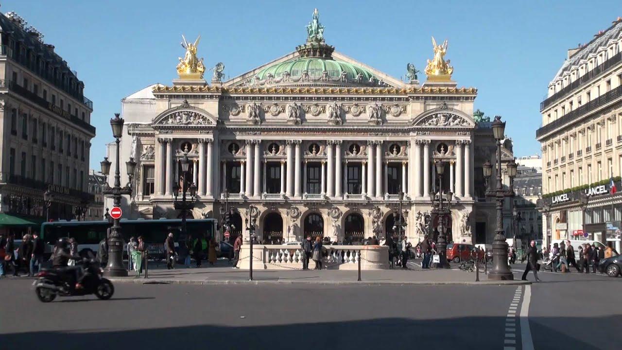 opera garnier paris stock footage public domain youtube