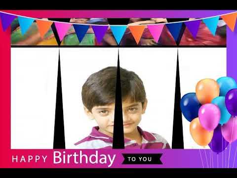 Happy Birthday song rudra soni 2020