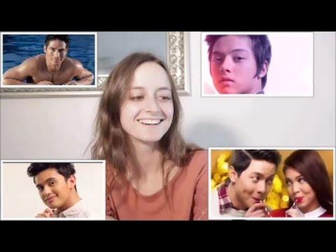 AUSTRALIAN GIRLS REACT to FILIPINO CELEBRITIES