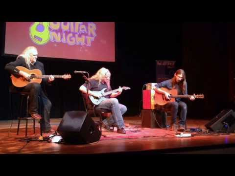 "Preston Reed, Guy Buttery & Tony Cox perform ""Valhalla"" (International Guitar Night)"