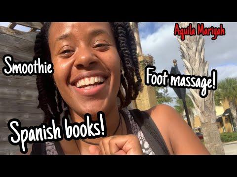 Florida Vlog/Foot Reflexology Massage/Aquila Mariyah.
