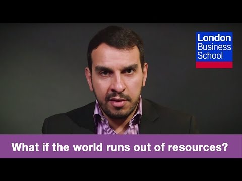 Ioannis Ioannou: What if the world runs out of resources? | London Business School
