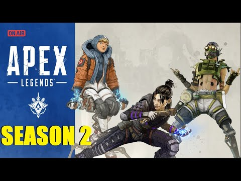 GETTING TO 100 TOP 5 FINISHES! APEX LEGENDS LIVE
