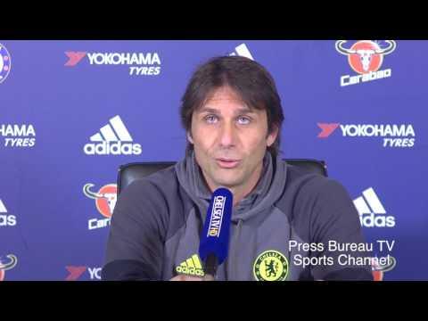 Antonio Conte pre Chelsea vs Sunderland