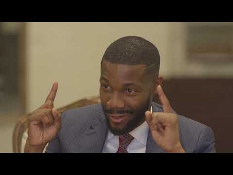 New Birmingham Mayor Randall Woodfin sits down with AL.com's Roy Johnson