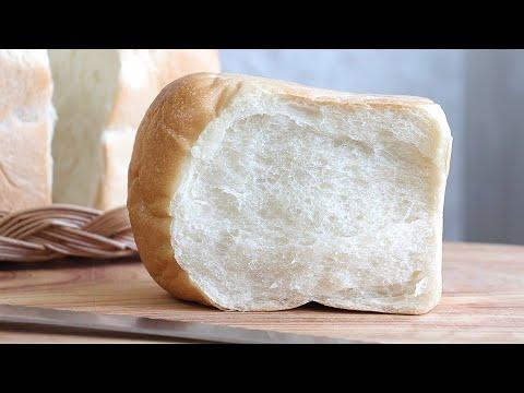 Eggless, No Butter, No Milk Bread Recipe/Vegan baking/노에그,노버터,노밀크 식빵만들기/비건식빵