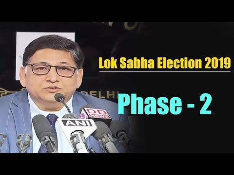 Election commission briefs media on completion of phase-2 of #Elections2019