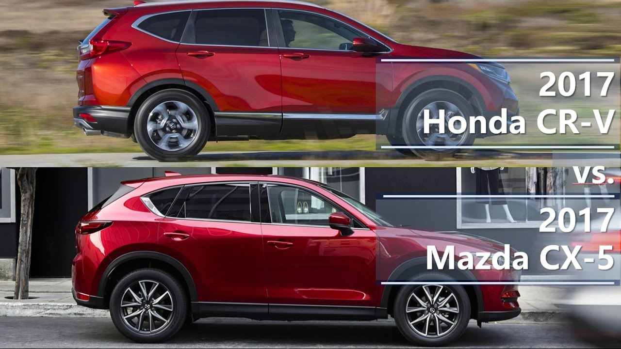 2017 Honda Cr V Vs Mazda Cx 5 Technical Comparison
