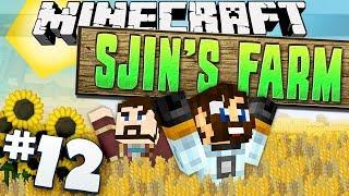 Minecraft - Sjin's Farm #12 - Sleeping Arrangements