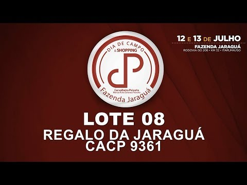 LOTE 08 (CACP 9361)
