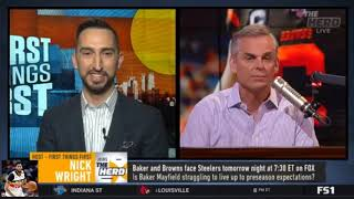 Colin Cowherd Debate Patrick Mahomes and Chiefd now 6-4 after 35-32 loss to Titans | The Herd
