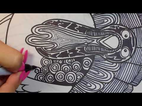 Turkey Doodle Timelapse | Alex Torres