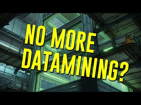 No more Data mining? (Warframe)