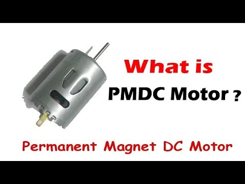 PMDC Motor Working Principle and Applications