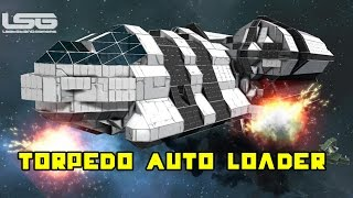 Space Engineers - Torpedo Auto Loader Concept, Mechanical Fun