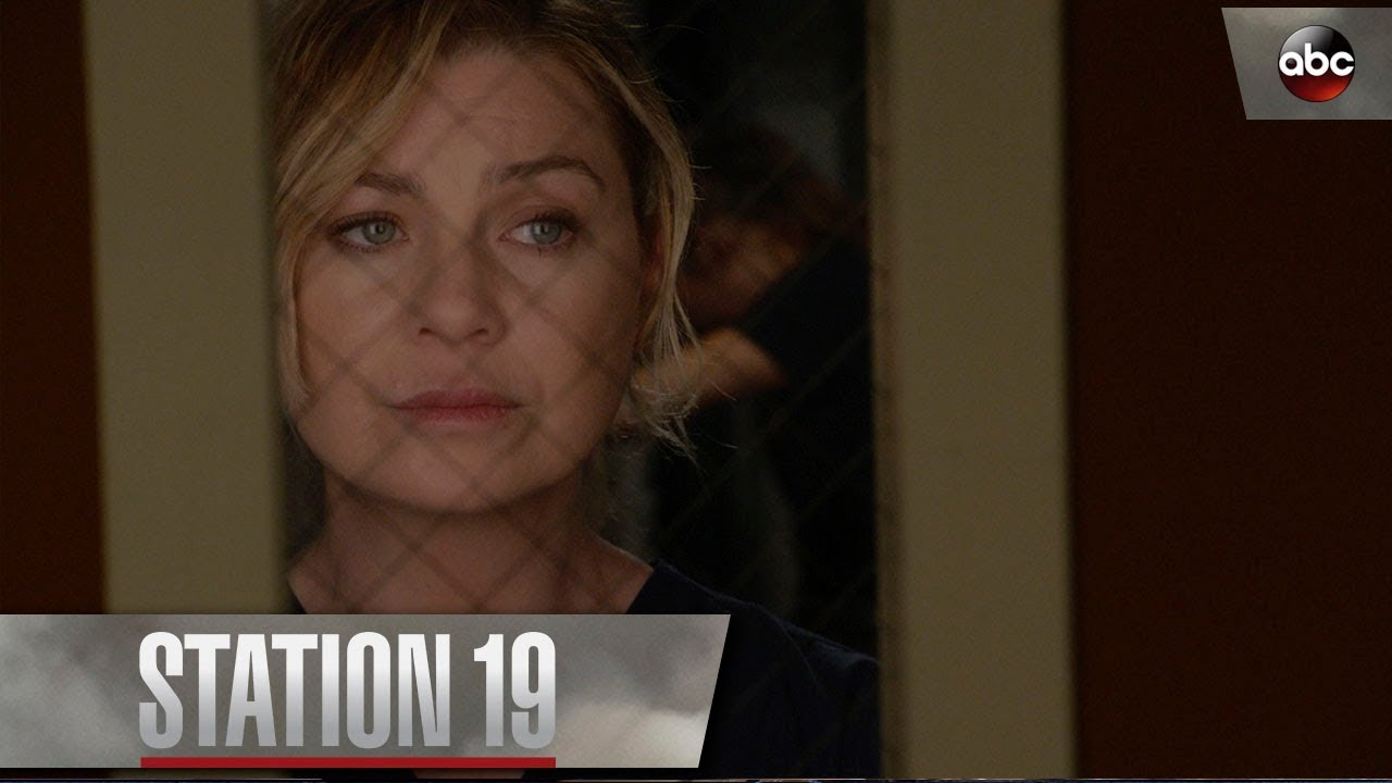 Download Meredith Grey Tells Andy To Put Her Game Face On – Station 19 Season 1 Episode 1