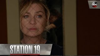 Meredith Grey Tells Andy To Put Her Game Face On – Station 19 Season 1 Episode 1