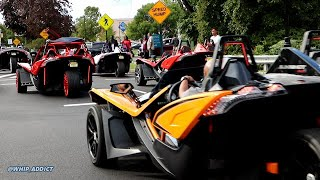 WhipAddict: 50+ SlingShots Takeover The Meadowlands, Plus Millions In Exotic, Super & Hyper Cars!