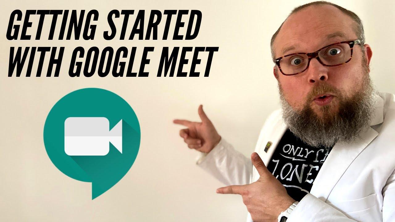 Brian Buffington's Online Teaching Cheat Sheet: Google Meet