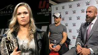 Triple H & Shawn Michaels On Ronda Rousey's Performance At Money In The Bank 2018 & Working With Her