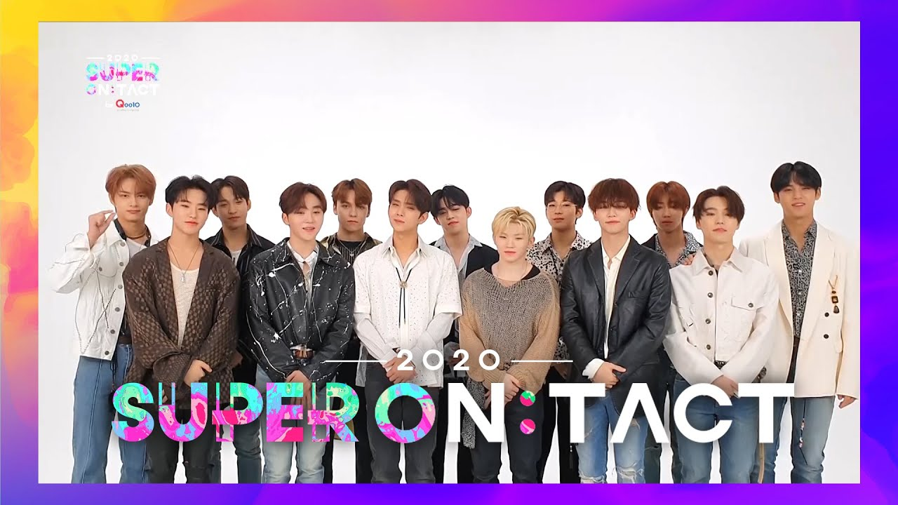 [슈퍼온택트] 2020 슈퍼콘서트-SUPER ON:TACT 《𝗗𝗔𝗬2 𝗟𝗜𝗡𝗘 𝗨𝗣》❤ SEVENTEEN
