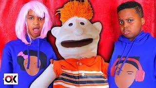 TOY PUPPET vs Shiloh and Shasha Making Funny Jokes - Onyx Kids