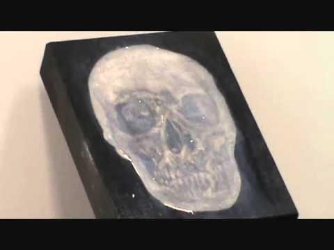 Pascal Picard peintre sculpteur expérimentation #5 : chair tu retournera à la terre..wmv