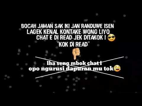 ✔Story Wa Singkat Sindiran Orang Jawa