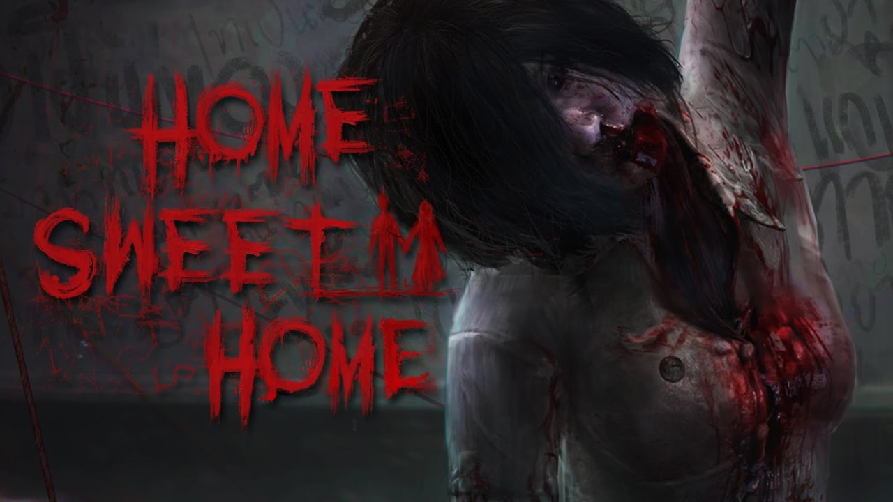 IT'S COMING OUTTA THE WALLS! - Let's Play Home Sweet Home ...