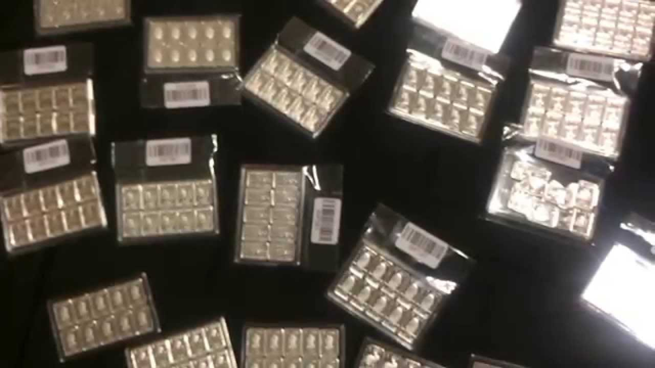 Tiny 1 Gram Silver Bars 999ag Fractional You