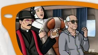 "Archer Season 4 Episode 11 ""The Papal Chase"" - My thoughts"