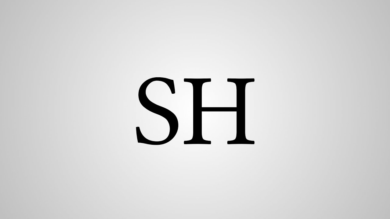 What Does Sh Stand For