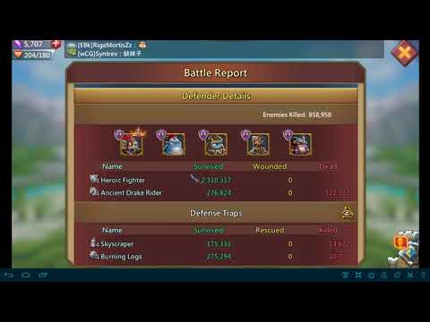 LORDS MOBILE - LEVEL 5 DARKNESTS