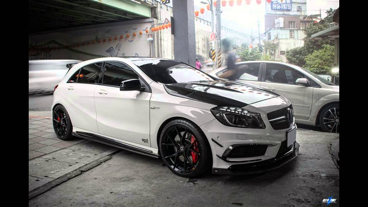 dia show tuning epd motorsports mercedes a45 amg mit rza. Black Bedroom Furniture Sets. Home Design Ideas