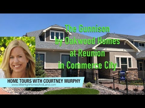 New Homes In Commerce City Colorado Gunnison Model By Oakwood At Reunion