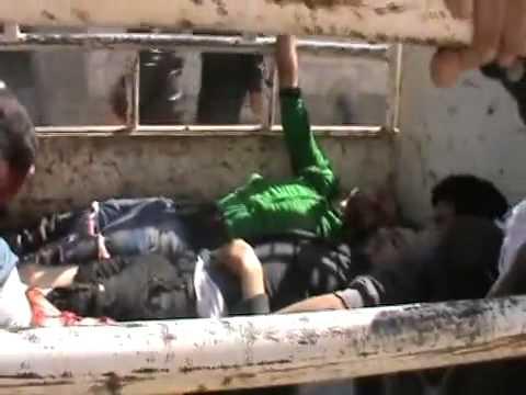شام درعا المحطة مجزرة بحق المدنيين 21 2 تحذير قاسي ج4