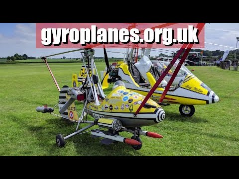 Gyroplane / gyrocopter fly-in. Old Warden 2018