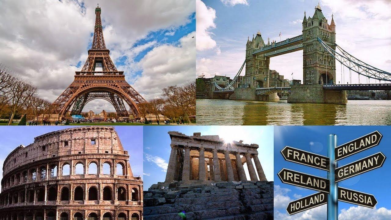 Las Mejores Ciudades de Europa | Video Drone - YouTube