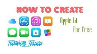 HOW TO CREATE APPLE ID | APPLE ID క్రియేట్