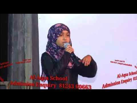 Al Aqsa school annual day 2018 Debate Father vs Mother