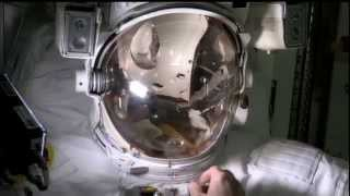 Station Crew Recreates Spacesuit Leak