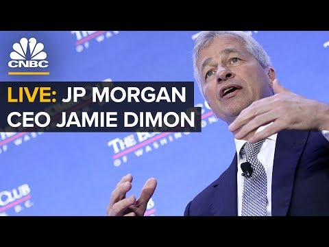 Jamie Dimon On Global Strategy And The Role Of The CEO -- Thursday, April 4 2019