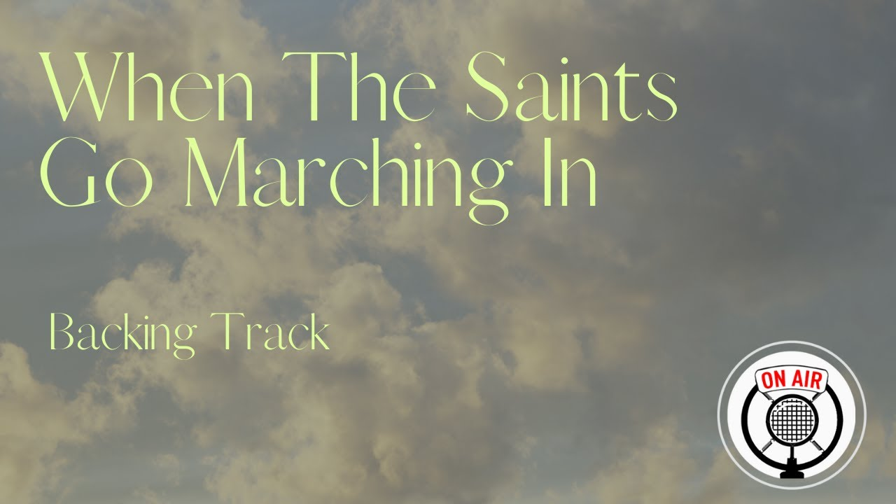 When The Saints Go Marching In (F) || Play Along || Gypsy Swing Backing Track