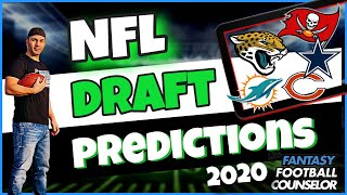 NFL draft 2020 Predictions and Fantasy Football Discussion