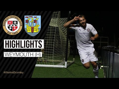 Bromley Weymouth Goals And Highlights