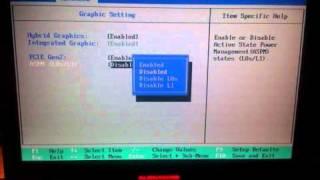 Alienware m17X Enable The Dual GPU SLI Mode